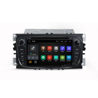 Navigatie Android 7.1 Ford Focus Mk2, Mondeo, Galaxy, S-Max, C-Max, Transit Connect, Tourneo cu DVD + Cadou Card GPS 8Gb (negru)
